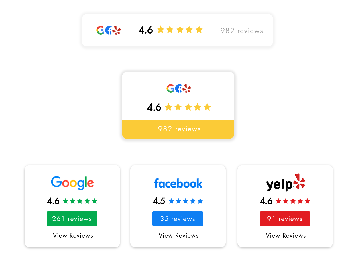 solar rating badges