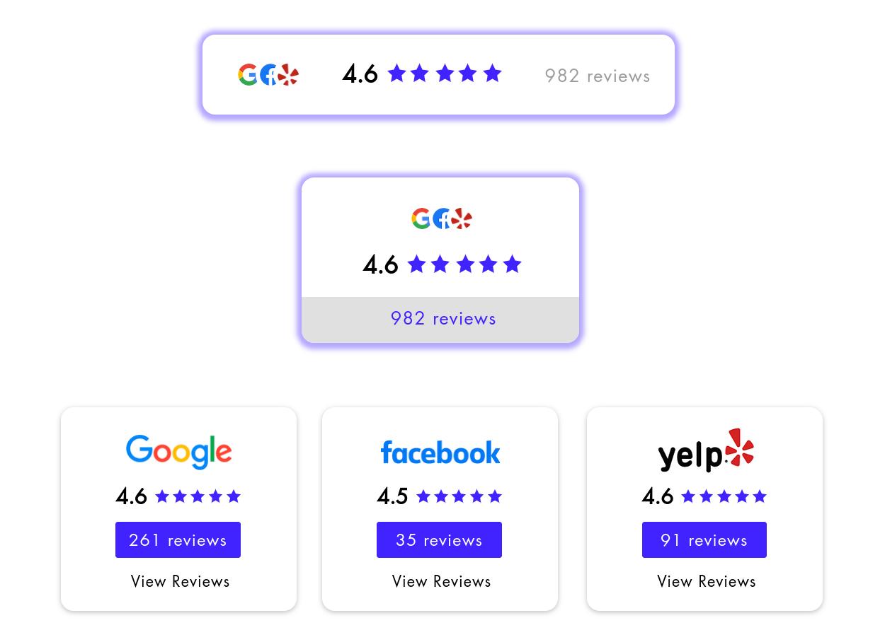 saas rating badges