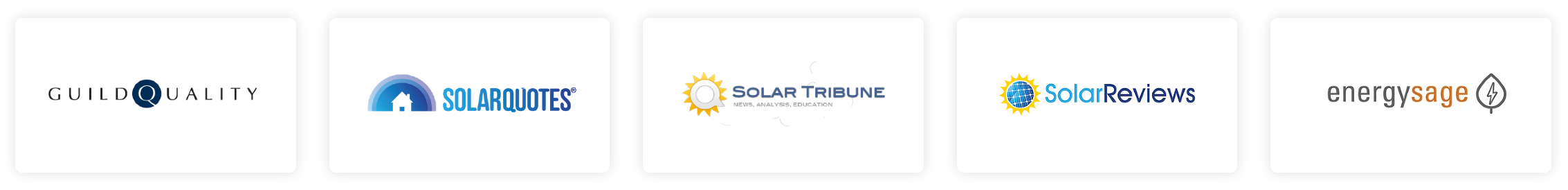 solar sites supported